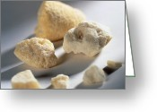 Cocaine Greeting Cards - Rocks Of Crack Cocaine Greeting Card by Tek Image