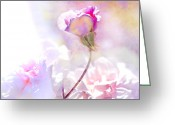Digital Flower Greeting Cards - Rose by any other name Greeting Card by Jeff Burgess