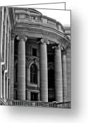 Legislature Greeting Cards - Rounded Corner Greeting Card by Christi Kraft