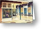 Louisiana Greeting Cards - Royal Pharmacy Greeting Card by Scott Pellegrin