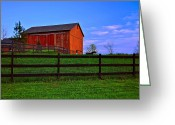 Tumbleweed Greeting Cards - Rural Living Greeting Card by Robert Harmon
