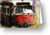 Ontario Mixed Media Greeting Cards - Rust In Peace Greeting Card by Bob Salo