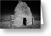12th Century Greeting Cards - Saint Johns Point Church Ruin Lecale County Down Northern Ireland Greeting Card by Joe Fox