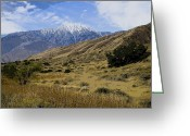 Destinations Digital Art Greeting Cards - San Jacinto Greeting Card by Jay Hooker