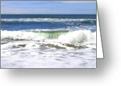 Sand And Sea Greeting Cards - Sand And Sea 1 Greeting Card by Will Borden