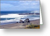 Sand And Sea Greeting Cards - Sand And Sea 18 Greeting Card by Will Borden