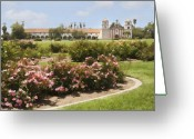 Santa Barbara Digital Art Greeting Cards - Santa Barbara Mission Greeting Card by Sharon Foster