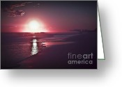 Santa Rosa Beach Greeting Cards - Santa Rosa Beach Sunset 5 Greeting Card by Walt Foegelle