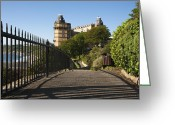 Concrete Greeting Cards - Scarborough Greeting Card by Svetlana Sewell