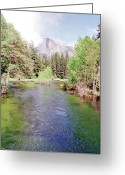 Treasures Greeting Cards - Scenic Treasures Greeting Card by Peter L Wyatt