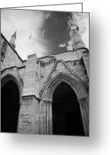 Gothic Arch Greeting Cards - Selimiye mosque formerly saint sophia cathedral nicosia lefkosia TRNC turkish cyprus Greeting Card by Joe Fox