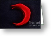 Sickle Greeting Cards - Sickle Cell Anemia Greeting Card by Omikron
