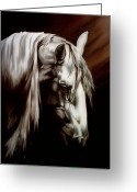 Photorealism Greeting Cards - Silver Lining Greeting Card by Renee Ciampi