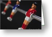 Toys Greeting Cards - Soccer Greeting Card by Bernard Jaubert