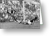 Athlete Greeting Cards - Soccer: World Cup, 1970 Greeting Card by Granger