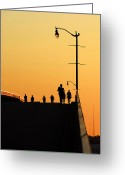 Work Lamp Greeting Cards - Solstice Greeting Card by David Lee Thompson