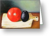 Hyperrealism Greeting Cards - Spanish Still Life Greeting Card by Monica  Vega