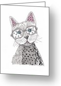 Paula Dickerhoff Greeting Cards - Spec-Catular Greeting Card by Paula Dickerhoff