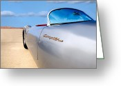Porsche Greeting Cards - Spyder Greeting Card by Peter Tellone