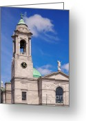 Colour Image Greeting Cards - St. Paul church Greeting Card by Gabriela Insuratelu