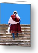 Load Greeting Cards - Stairway To Heaven Greeting Card by Al Bourassa