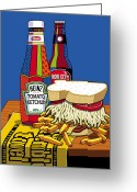 Beer Greeting Cards - Steel life Greeting Card by Ron Magnes