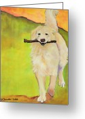 Colorado Prints Greeting Cards - Stick Together Greeting Card by Pat Saunders-White            