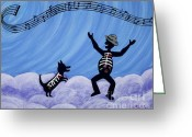 We The People Greeting Cards - Still Dancing Greeting Card by Kerri Ertman
