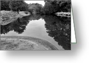 Landscape Framed Prints Greeting Cards - Still Waters Greeting Card by Steven Ainsworth