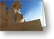 Greek Sculpture Greeting Cards - Stone warm Greeting Card by Donna Spadola