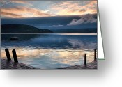 Landscape Photograpy Greeting Cards - Storm Clearing Greeting Card by Steven Ainsworth