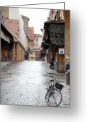 Michelangelo Greeting Cards - Streets of Florence Greeting Card by Andre Goncalves