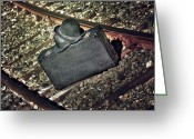 Suitcase Greeting Cards - Suitcase And Hats Greeting Card by Joana Kruse