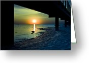 "\""sunset Photography Prints\\\"" Greeting Cards - Summer Glow Greeting Card by Jason Naudi Photography"