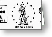 Commission Greeting Cards - Symbols: World War Ii Greeting Card by Granger