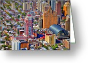 South Philadelphia Photo Greeting Cards - Symphony House Condo 440 South Broad Street Philadelphia PA 19146 4901 Greeting Card by Duncan Pearson