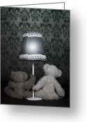 Teddy Bear Greeting Cards - Teddy Bears Greeting Card by Joana Kruse
