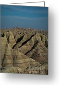 Wall Calendars Greeting Cards - The Badlands Greeting Card by Brent Parks