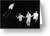 George Harrison Photo Greeting Cards - The Beatles, 1964 Greeting Card by Granger