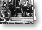 Seated Greeting Cards - The Beatles, 1965 Greeting Card by Granger