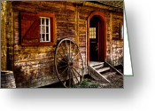 Tacoma Greeting Cards - The Blacksmith Shop Greeting Card by David Patterson
