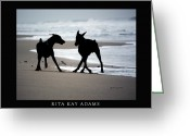 Rita Greeting Cards - The Dance Greeting Card by Rita Kay Adams