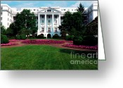 Upscale Greeting Cards - The Greenbrier Greeting Card by Thomas R Fletcher