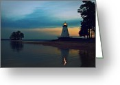 Gloaming Greeting Cards - The Light of Love is Always On Greeting Card by Marc Parker