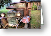 Model A Greeting Cards - The Model A Greeting Card by JC Findley