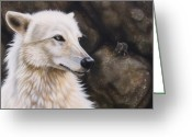 Wolf Song Studio Greeting Cards - The Mouse Greeting Card by Sandi Baker