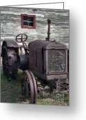 Equipment Greeting Cards - The Old Mule  Greeting Card by Richard Rizzo