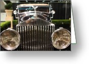 Cars Greeting Cards - The Rolls Royce Greeting Card by Wingsdomain Art and Photography