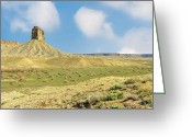 Mesa Verde Greeting Cards - This is Colorado No. 4D - Mancos Canyon Greeting Card by Paul W Sharpe Aka Wizard of Wonders