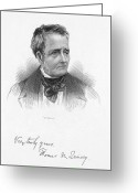 Autograph Greeting Cards - Thomas De Quincey Greeting Card by Granger